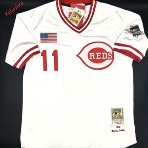 Other - Barry Larkin Cincinnati Reds Jersey 1990 All Sizes